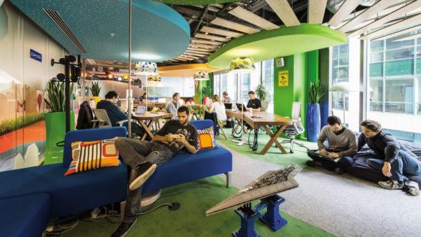 What open office looks like