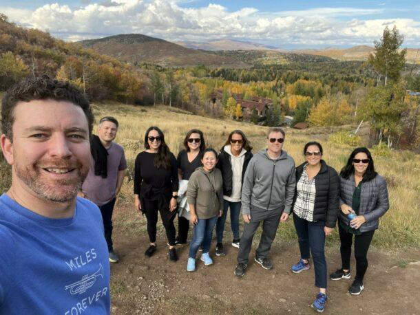 Wildbit's leadership team during our 2021 Utah retreat